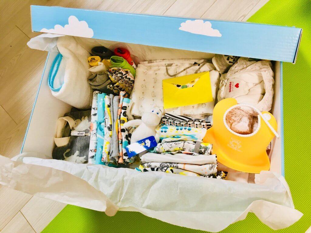 Finnish Baby Box(フィニッシュ・ベイビー・ボックス)が届いた