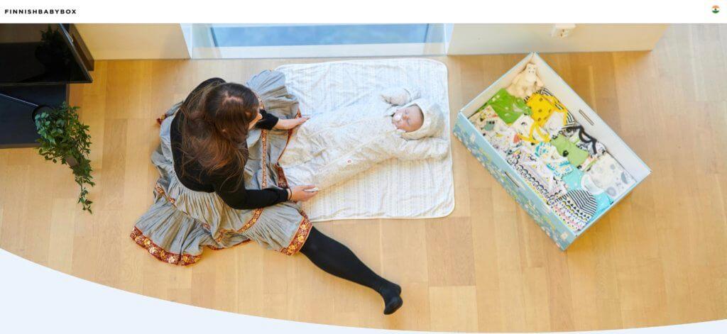 Finnish Baby Box(フィニッシュ・ベイビー・ボックス)